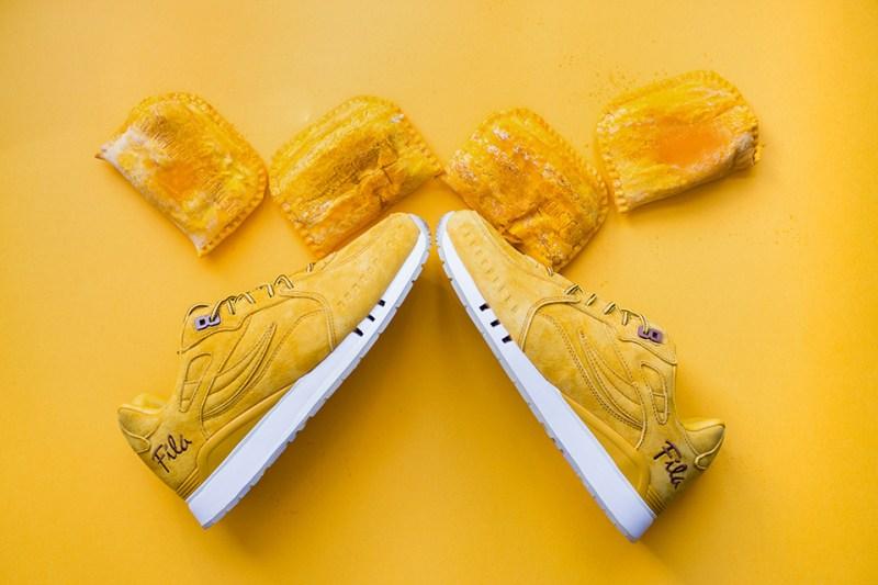 FILA & Alumni Create Jamaican Beef Patty Inspired Sneaker