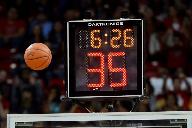 The NBA Finally Gets a New Shot Clock