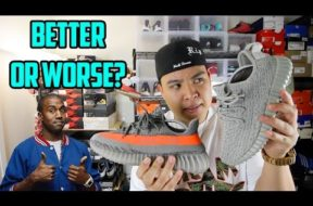 ADIDAS YEEZY BOOST V1 VS. V2 COMPARISON!!!
