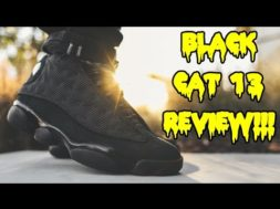 AIR JORDAN 'BLACK CAT' 13 REVIEW + ON FEET!!!