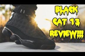 AIR JORDAN 'BLACK CAT' 13 REVIEW + ON FEET!!!
