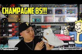AIR JORDAN 'CHAMPAGNE' 8 REVIEW + ON FEET!!! #KINDAEARLY