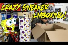 CRAZY SNEAKER UNBOXING!!! 10+ PAIRS OF SHOES… (L.A. SNEAKER PICKUPS)