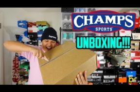 EP. 4 – MYSTERY UNBOXING FROM CHAMPS SPORTS!!! #LATEUPLOAD