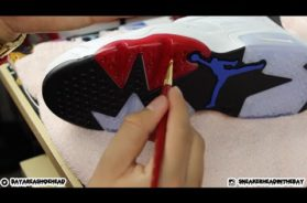 How To Dye Icey/Translucent Soles Tutorial!