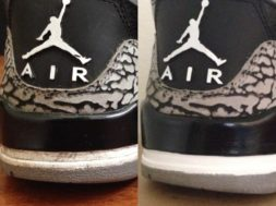 How To Touch Up Air Jordan 3 Heeltabs Tutorial!