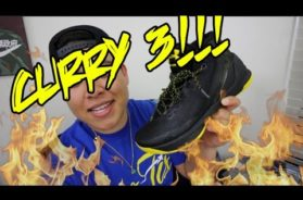 MY FIRST LOOK AT THE CURRY 3!!!