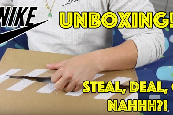NIKE SNEAKER UNBOXING #55! STEAL, DEAL, OR NAHHH??? #SUPERLATEUPLOAD