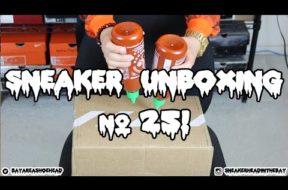 SNEAKER UNBOXING #25!