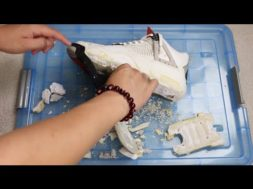 Sole Swap Series – Episode 2: How To Remove Crumbling Midsoles Tutorial!