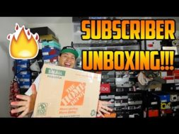 SURPRISE SNEAKER UNBOXING FROM A SUBSCRIBER!!! (#64)