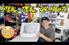 VINTAGE AIR JORDAN SNEAKER UNBOXING FROM EBAY – STEAL, DEAL, OR NAH?!