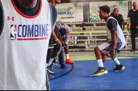 Working Out at the NBA COMBINE!!