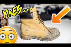 HOW TO CLEAN TIMBS/SUEDE/NUBUCK TUTORIAL!!!