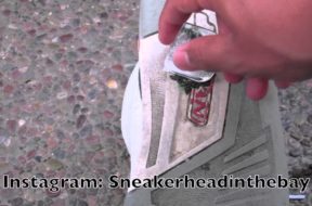 How To Remove Gum From Shoes Tutorial!