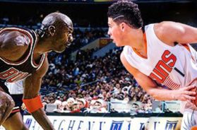 I TOLD YALL! PROOF THAT DEVIN BOOKER BETTER THAN ROOKIE MJ!!