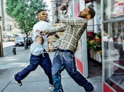 THEY GOT JOHN WALL PUSHING RUSSELL WESTBROOK! IS THIS WORLDSTAR?!