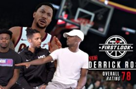 ABSOLUTELY NO RESPECT FOR DERRICK ROSE SMH