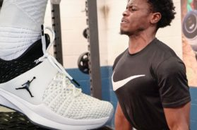 INTENSE Back Workout and New Jordan Trainer!