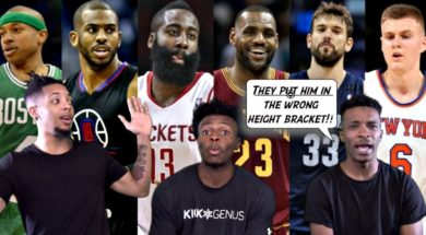 THE BEST NBA Athletes by Height! From 5'8 to 7'4!