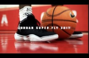 Hoopin' in the Jordan Super.Fly 2017!