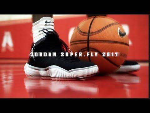 Hoopin' in the Jordan Super.Fly 2017!