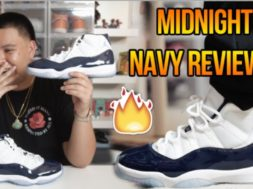 AIR JORDAN 11 'MIDNIGHT NAVY/WIN LIKE 82' REVIEW + ON FEET!!!