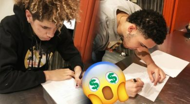 LaMelo & LiAngelo Ball Signed Professionally For HOW MUCH?!
