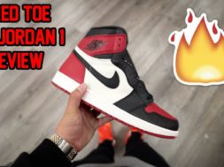 2018 AIR JORDAN 'BRED TOE' 1 REVIEW!!! DID YOU COP OR DROP?