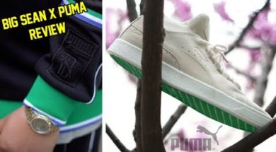EARLY LOOK: BIG SEAN X PUMA SUEDE MID REVIEW + ON FOOT!!!