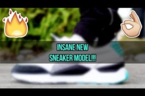 CHECKING OUT THIS INSANE NEW SNEAKER!!! (SUPER COMFY)