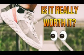 IS THE NIKE REACT ELEMENT 'SAIL' 87 REALLY WORTH IT? REVIEW + ON FEET!!!