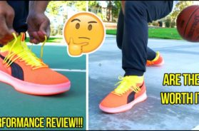 PUMA CLYDE COURT DISRUPT IN-HAND LOOK + PERFORMANCE REVIEW!!!