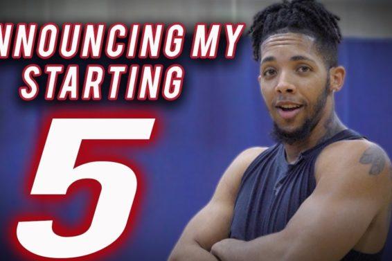 Tre Announces His OFFICIAL Starting Five for 2018-19 NBA Season!