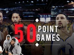 Best 50 Point Games 2018-19 Season (SO FAR)