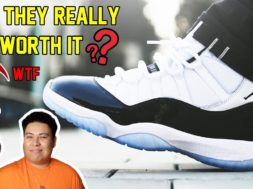 IS THE 2018 AIR JORDAN 11 'CONCORD' REALLY WORTH IT? REVIEW + ON FEET!!! (WATCH BEFORE YOU BUY)