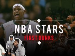 NBA Super-Stars FIRST HIGH SCHOOL DUNK!