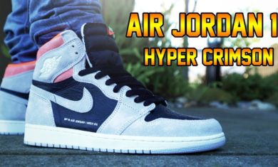 AIR JORDAN 1 'HYPER CRIMSON' REVIEW + ON FEET!!!