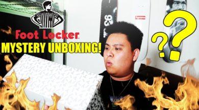 DOUBLE MYSTERY SNEAKER UNBOXING FROM FOOTLOCKER! (WHAT'S INSIDE???)