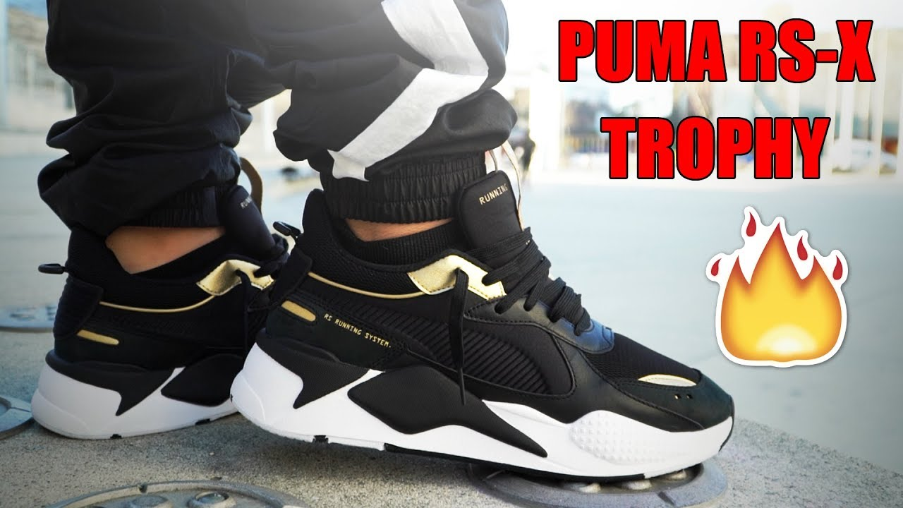 PUMA RS X TROPHY REVIEW + ON FEET!!! | Sneaker Tip