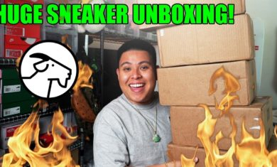 HUGE SNEAKER UNBOXING FROM GOAT! (STEALS AND DEALS)