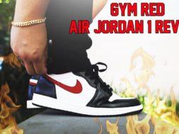 AIR JORDAN 'GYM RED' 1 REVIEW + ON FEET!!!