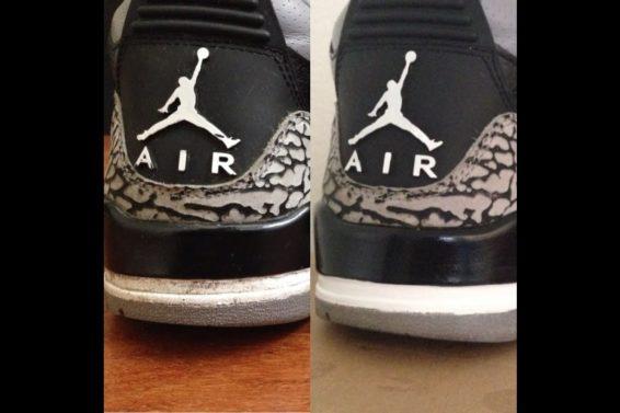 How To Touch Up Air Jordan 3 Heeltabs Tutorial!