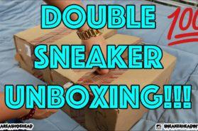 Unboxing #43 – MOTIVATIONAL DOUBLE SNEAKER UNBOXING!