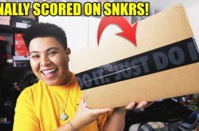 I FINALLY SCORED ON NIKE SNKRS APP! (SNEAKER UNBOXING)