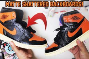 MATTE AIR JORDAN 1 'SHATTERED BACKBOARD 3.0″ TUTORIAL! (EASY)